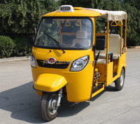 Petrol and CNG run three wheel motorcycles taxi in USA