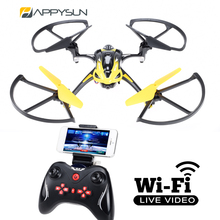 2016 New Arrival Wifi Live Video Drone Quadcopter With FPV System