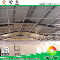 100% non asbestos fireproofing calcium silicate board types of ceiling finishes manufacturer from China