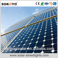 solar power energy generation street light parts system
