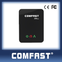 COMFAST CF-WP200M Wall Mount Homeplug Powerline 200Mbps Ethernet Bridge 3g/4g power line communication adapter