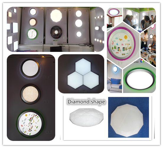 Alibaba China smd2835 led aluminum pcb plate ufo led light 25w ceiling lamp for home lighting