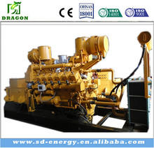 CE standard Siemens alternator 1mw 2mw 3mw natural gas generator