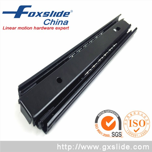 Telescopic Channel Rainbow Plating Stainless <strong>Steel</strong> Drawer Slide China Supplier