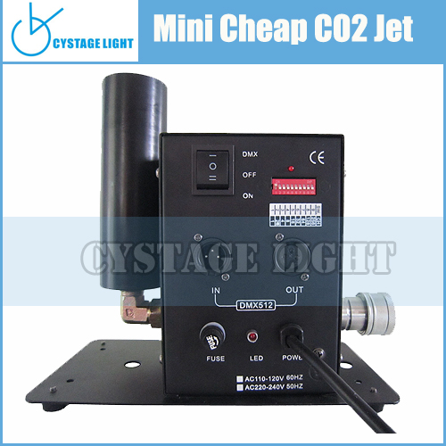 Party Decoration Decorations Wedding Mini DMX 512 control 100W Stage Effect Co2 Jet Machine For Disco Equipment