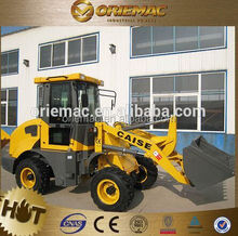 CAISE CS 915 1.5 ton mini loader with fork and snow blade for sale