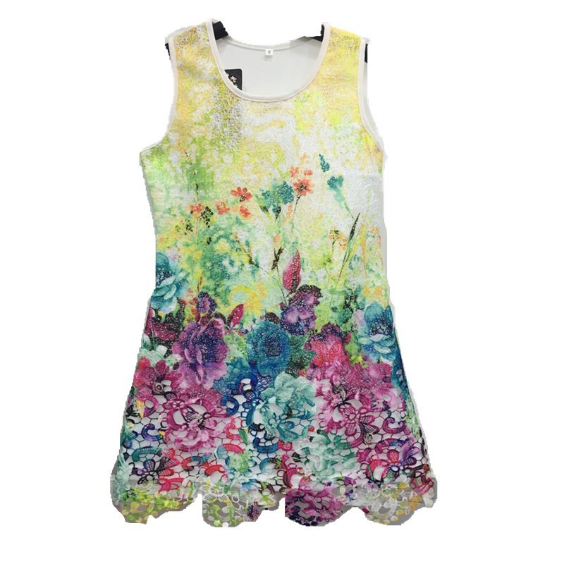 Wholesale product girl special flower beads pakistani baby cotton dress princess flower girl dress fashion 3 year old girl dress