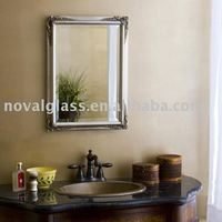 beveled mirror frame