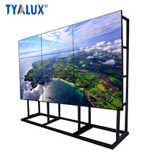 55 inch seamless LCD advertising video wall with LG panel 1.8mm