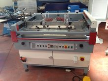 Tekna semi automatic screen printing machine