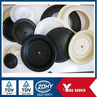 China factory customized silicone rubber diaphragm, industrial used high pressure resistance rubber diaphragm