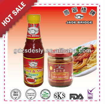 Chinese brand Hot sauce & Sweet Sour Sauce
