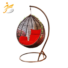 Outdoor hammock cane swing chair bed easy to move and install