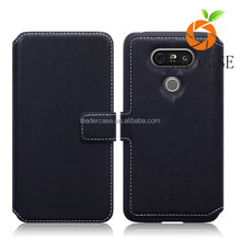 Manufacturer Wholesale Ultra Thin Slim Leather Flip Magnetic Cheap Mobile Phone Case