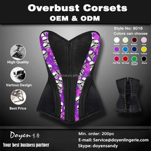 China Supplier Wholesale Sexy Busty Corset Dress Lingerie