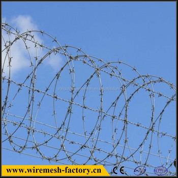 low price pvc coated barbed wire