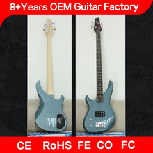 high quality left hand electric bass guitar