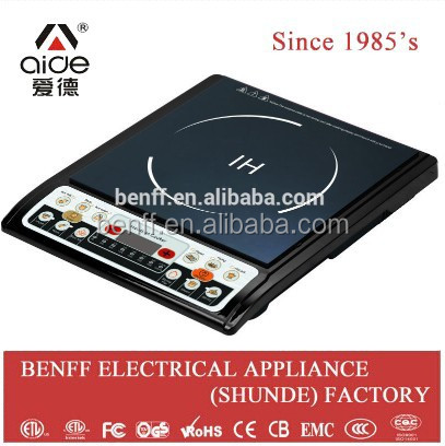 High quality black crystal plate touch electric kitchen stove bbq burner