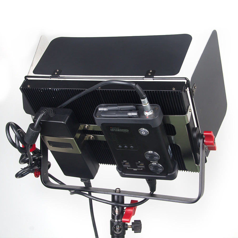 Aputure annual promotion:studio led light panels, studio led lighting kits, led light studio