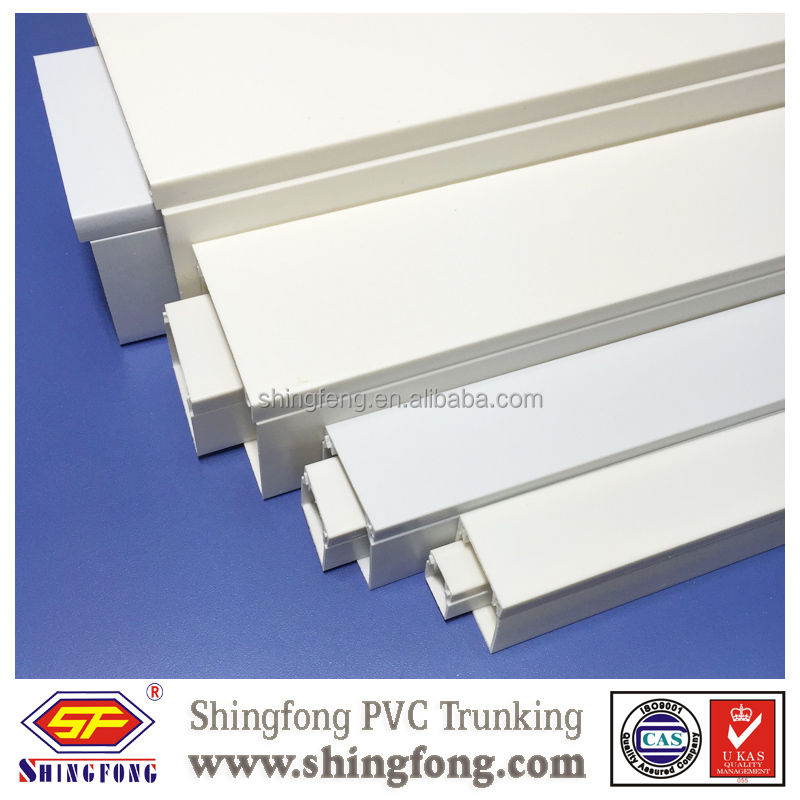 China Factory Square PVC gutter by Shingfong