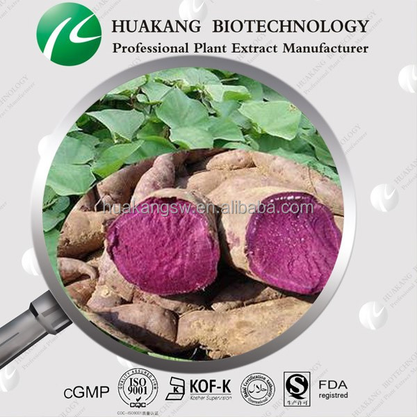 100% natural Purple sweet potato extract -Proanthocyanidins 5%-70%