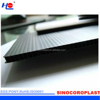 Die Cut Plastic Corflute Corrugated Sheet