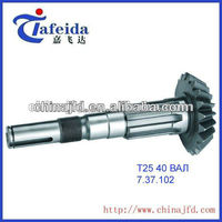 tractor gearbox Froged transmission shafts for T25