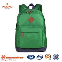 Fashion cheap high school polyester and nylon custom made backpacks/.
