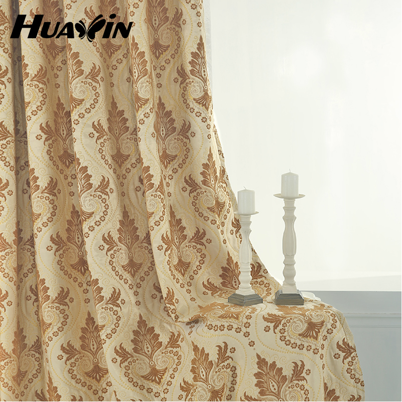 window curtain newest design chenille embroidery curtains
