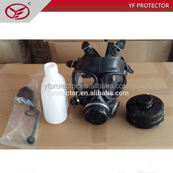 gas mask with drinking tube/safety gas protection mask