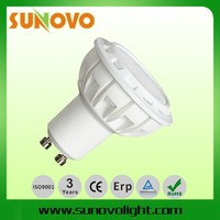 7W high power led bulb gu10 smd spotlight