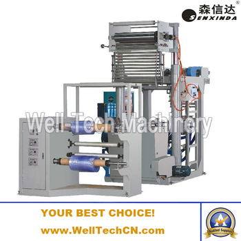 mini pvc blown film machine