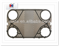 Branded Plate Heat Exchanger Plates like Alfa laval TS20M,heat exchanger component