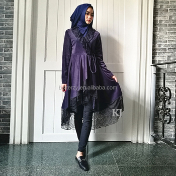 0292 islamic muslim long maxi top with wholesale price