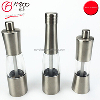 bottle shaped pepper mill/sea salt grinder wine bottle salt & pepper mills