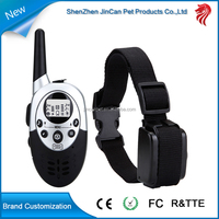 Professional 1100 Yards Remote Training E-collar from 25 to 100 lbs, with Safe Beep, Vibration and Shock functions