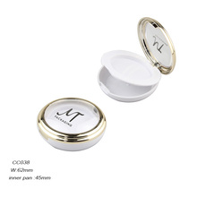Top Quality Empty Mini Cosmetic Makeup Compact Powder Case