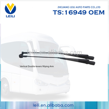 All weather windshield auto wiper arm