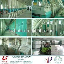 Corn Wheat Flour Processing Machinery Plant