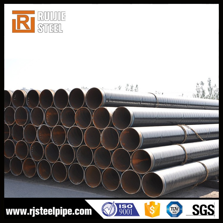 Mill Certificated 3pe anti-corrosion seamless tube 3pe steel pipe 3pe 2pe 3pp from China