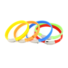 Waterproof recharge silicone LED Dog Collars