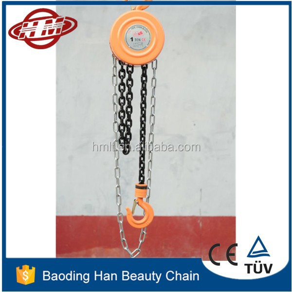 2015 Hot sale hsz type chain block 15T 15 ton