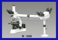 MULTI-VIEWING LABORATORY BIOLOGICAL MICROSCOPE FOR 3 MEN W/INFINITE OPTICAL SYSTEM