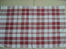 custom cotton woven tea towels