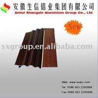 wood grain aluminium materials