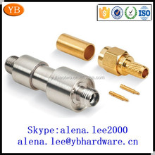 Factory precision male female swivel brass connector bolt electrical ISO9001