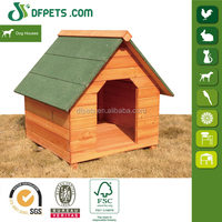 DFPets DFD002 Outdoor Bitumen Roof Wooden Dog House