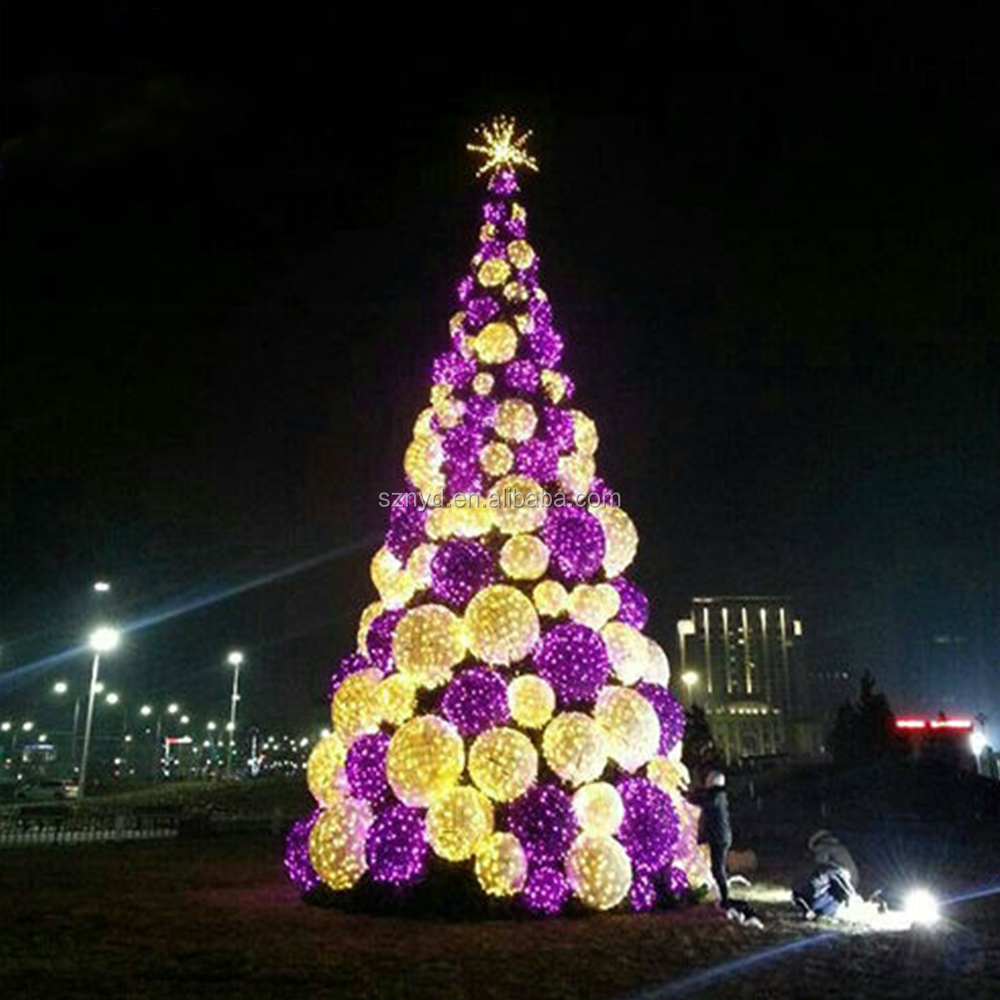 Outdoor led christmas tree lighted christmas cone tree for Led outdoor christmas ornaments