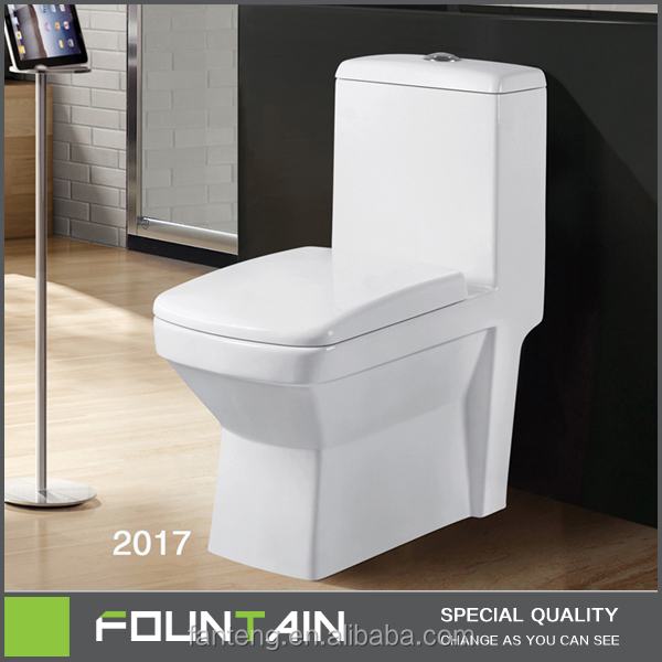 Elegant Watermark WC Toilet Floor Stand Bathroom One Piece Toilet