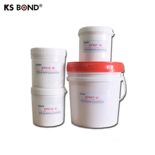 Electronic transparent potting glue, high temperature resistant epoxy resin